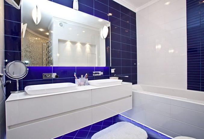 Дизайн совмещенного санузла с ванной фото