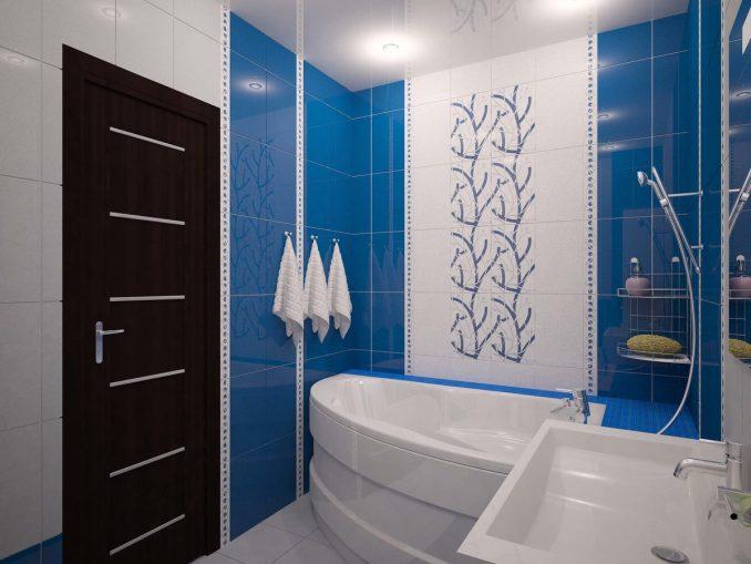 Ремонт ванной комнаты 5 кв. м. с туалетом фото