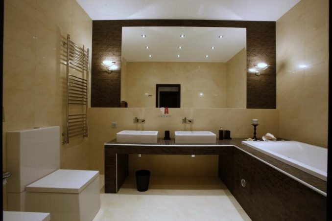 Дизайн красивой ванной комнаты