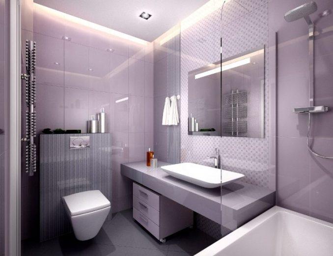 Дизайн красивой ванной комнаты в квартире