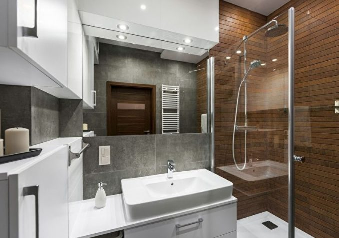 Дизайн маленькой ванной комнате