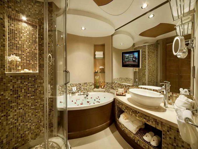 Фотографии красивой ванной комнаты в квартире