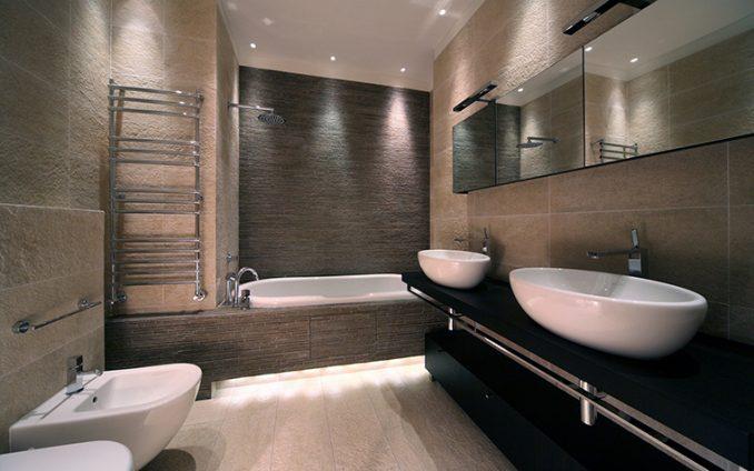 Просторная ванная