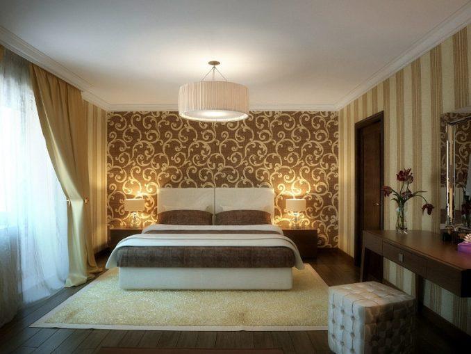 Спальня 2 цветов