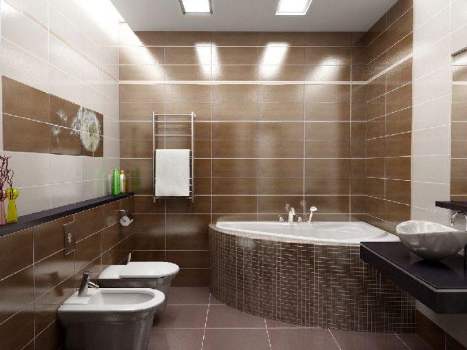 Варианты оформления ванной