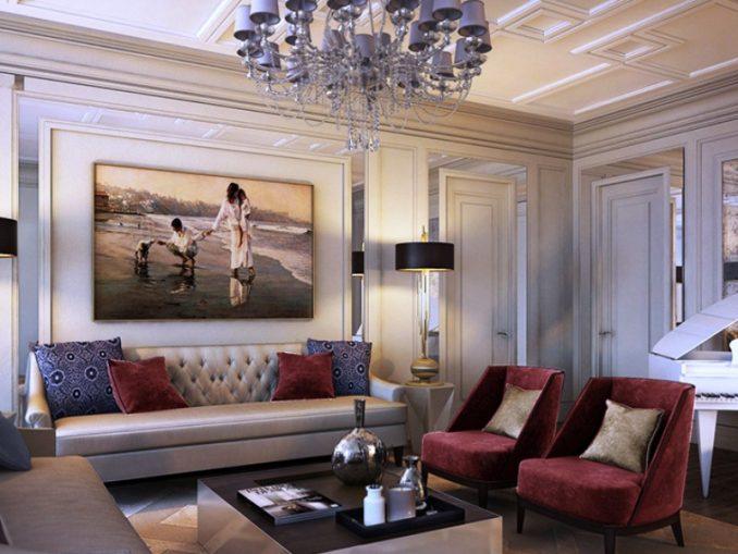 современный-дизайн-комнаты-зал