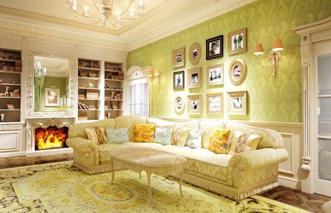 Дизайн гостиной в стиле прованс фотографии