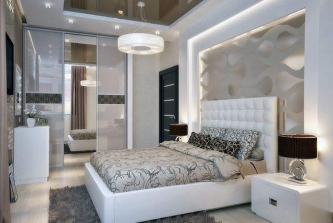 Дизайн маленькой спальни 10 кв. м.