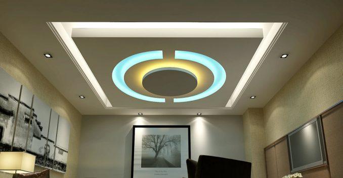 Дизайн подвесных потолков из гипсокартона фотографии