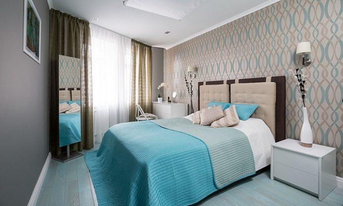 Дизайн спальни 9 кв. м. в современном стиле фото фото
