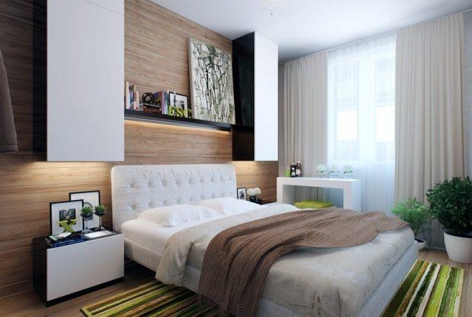 Фотографии дизайна малогабаритной спальни