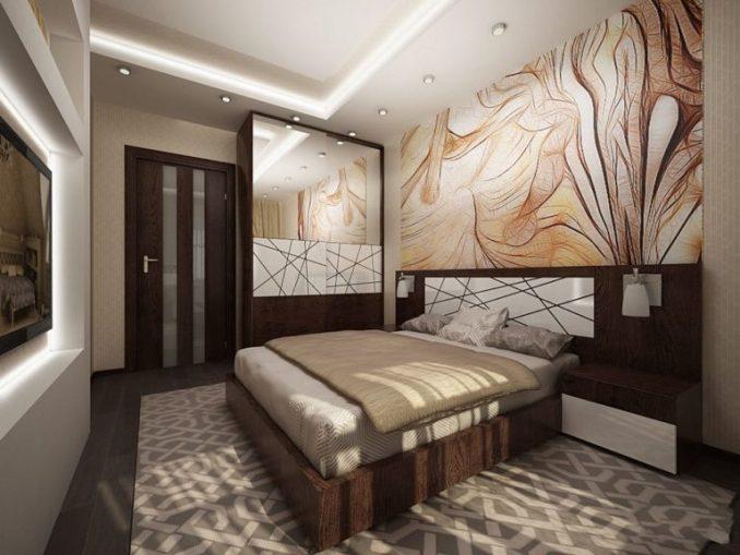 Грамотный подход к созданию оформления спальни 9 кв. м.
