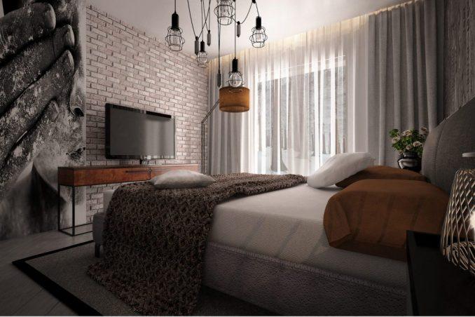 Характерные черты стилялофтв спальне