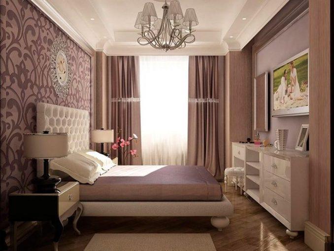 Интерьер дизайна малогабаритной спальни
