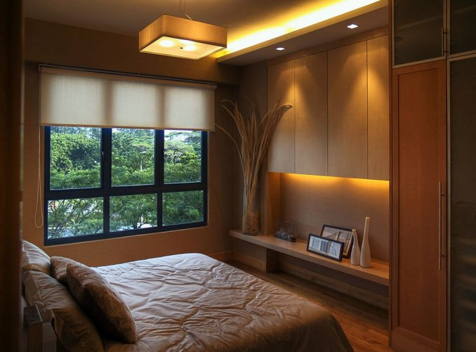 Интерьер и дизайн малогабаритной спальни фотографии