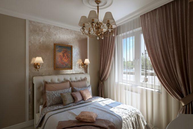 Интерьер маленькой спальни 9 кв м своими руками