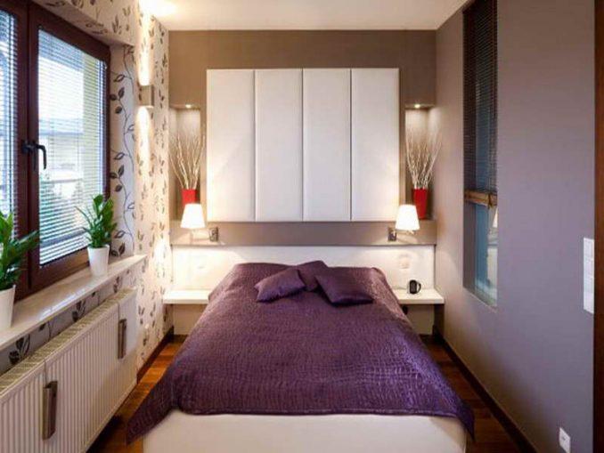 Интерьер небольшой спальни в квартире фото