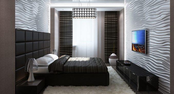 Интерьер спальни 2019 года