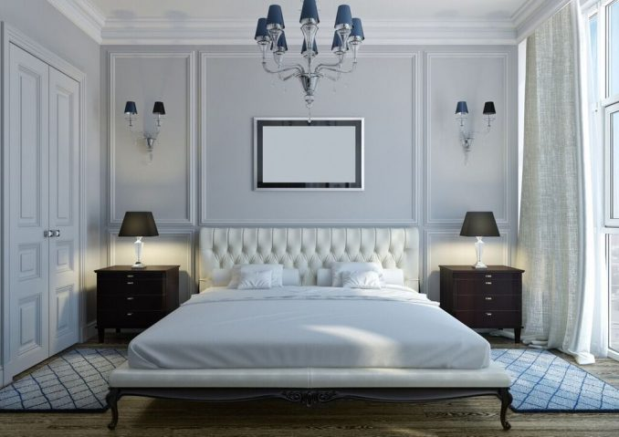 Классический дизайн для спальни