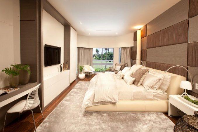 Лучшие варианты обустройства дизайна узкой спальни