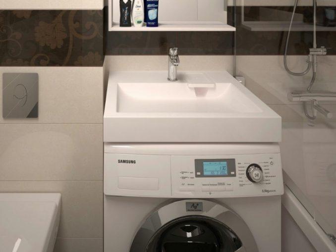Мойка над стиральной машиной