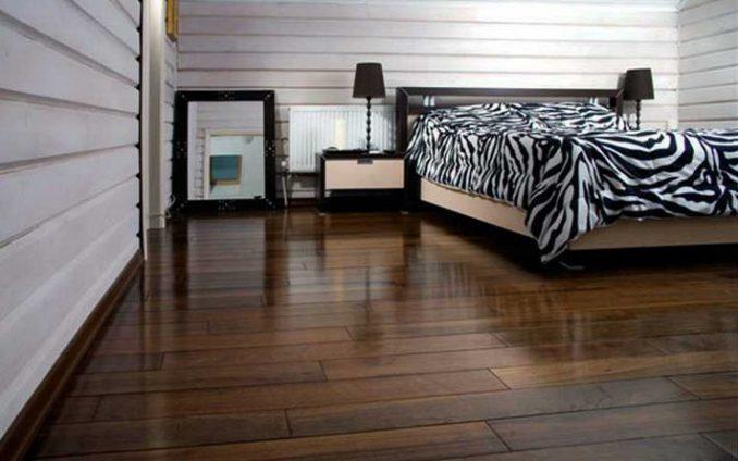 Напольный массив спальня