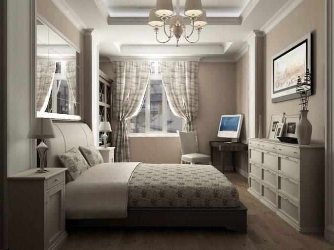 Неоклассицизм в спальне
