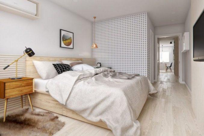 Оформление интерьера в скандинавском стиле спальни фото