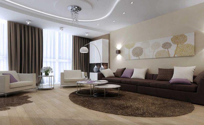 Правила для простого дизайна гостиной