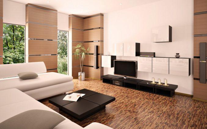 Правильный и органичный дизайн гостиной