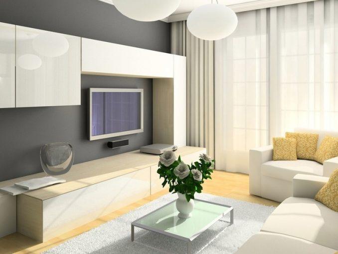 Простота в дизайне гостиной