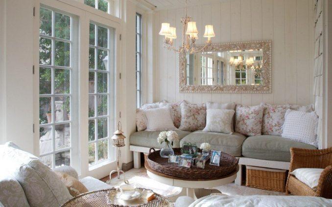 Прованс в интерьере в гостиной фото