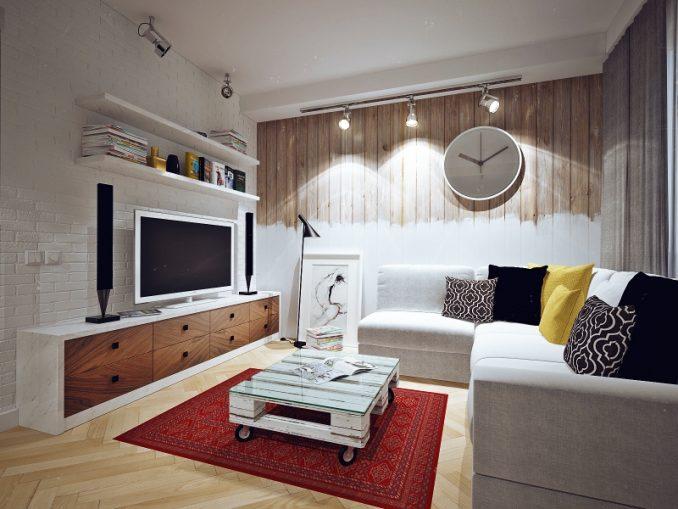Рекомендации дизайнеров по созданию интерьера маленькой гостиной