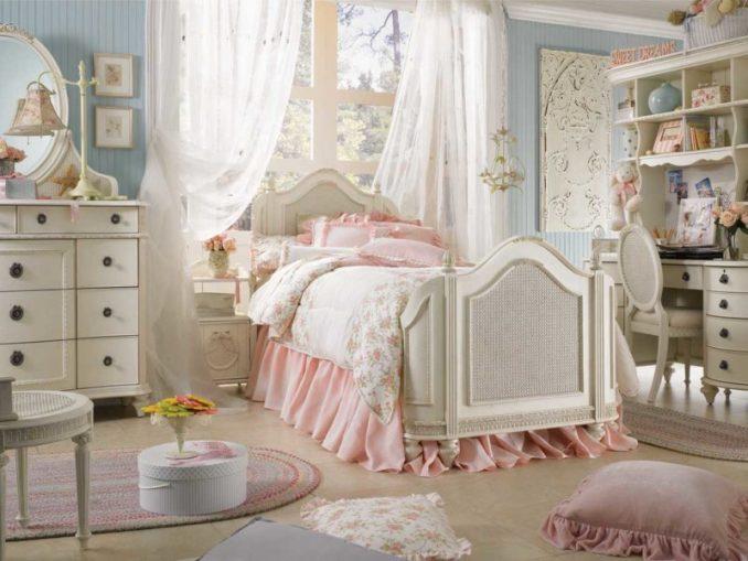 Шебби-шик в спальне