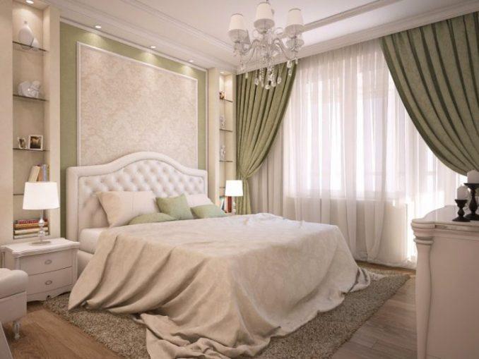 Создавая классический интерьер в спальне