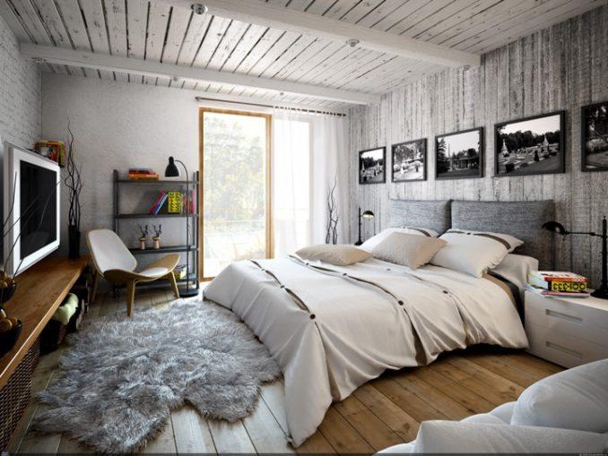 Спальня - лофт