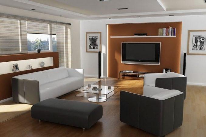 Телевизор под полкой дизайн