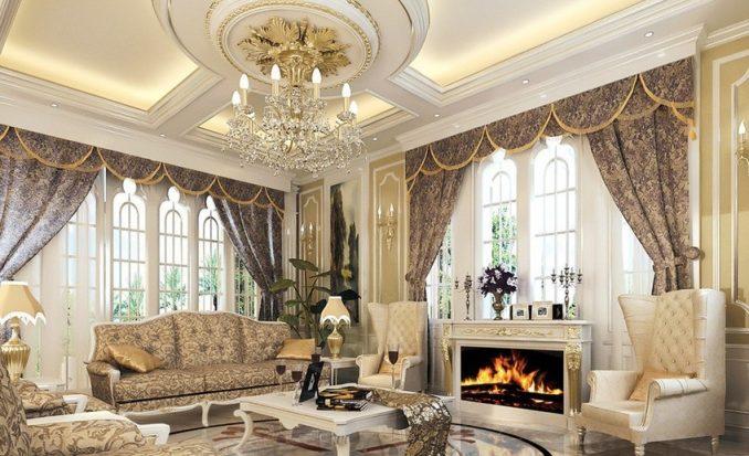 Красивые потолки из гипсокартона фото